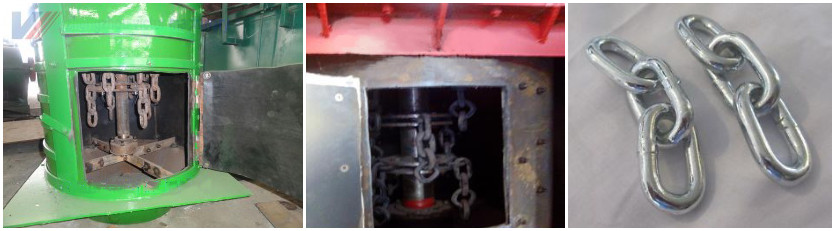inner structure of chain crusher
