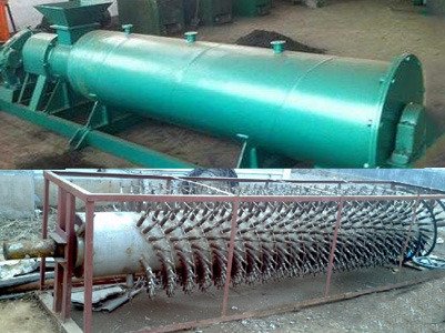 inner structure of organic fertilizer dedicated granulator