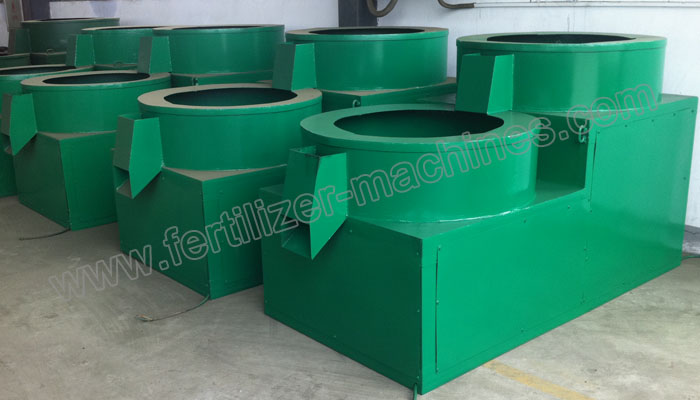 organic fertilizer polishing machine
