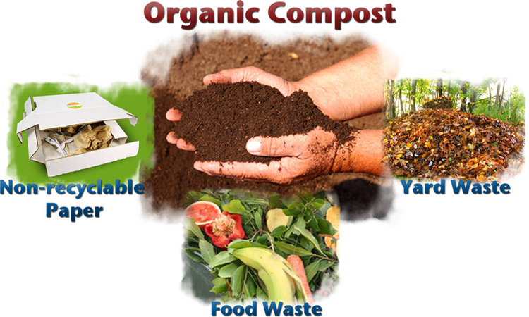 composted organic manure 1