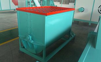Horizontal Fertilizer Mixer Exported to Russia
