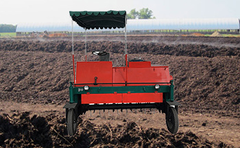 Self-propelled Compost Turner Exports To Nepal