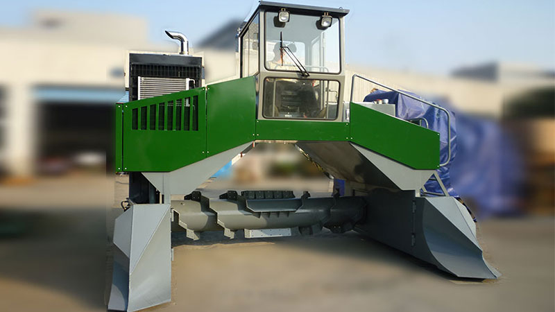 Hydraulic Composting Machine