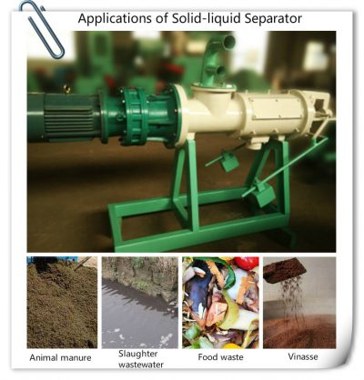 applications of solid liquid separator